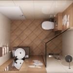 Идеи за дизайнерска баня в малко пространство