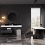 Дизайн на баня: Модни цветове 2021